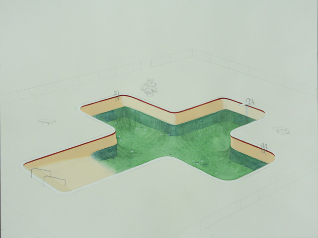 , 'Pool,' 2013, Zevitas Marcus