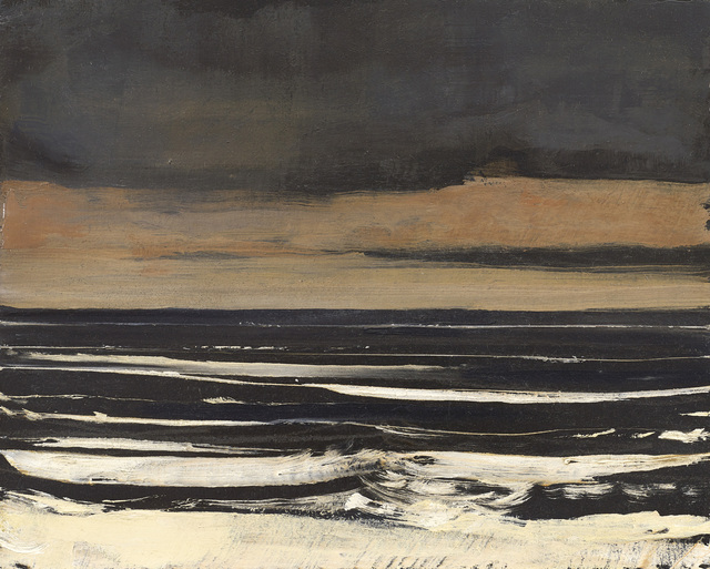 Hannah Mooney, 'Dark Seascape Study I', 2019, The Scottish Gallery