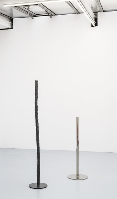 , 'Group of poles,' 2016, VALENTIN
