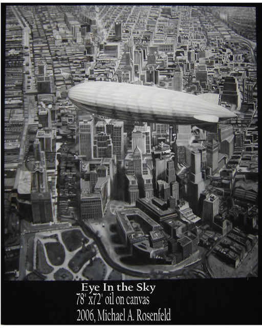 , 'Eye in the Sky II,' 2017, LAUNCH LA