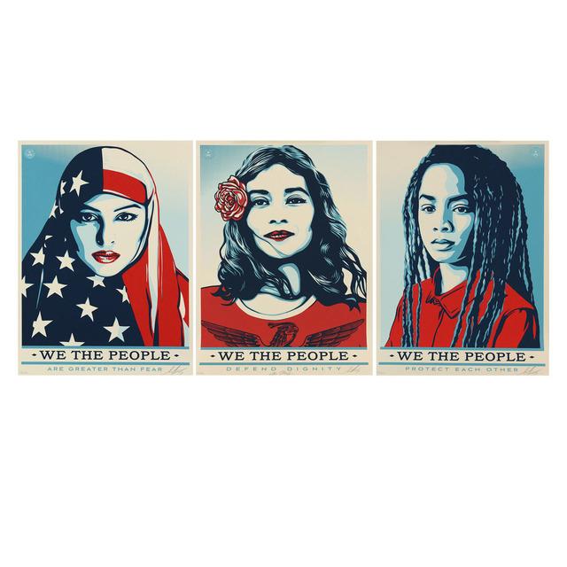 Shepard Fairey, 'We the People', 2017, e.artis contemporary
