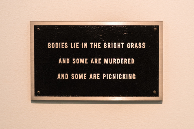 , 'Survival: Bodies lie in the bright grass…,' 1984, PinchukArtCentre