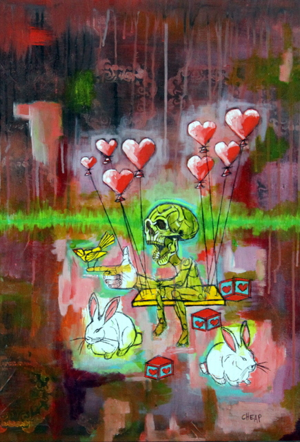 , 'Sometimes Love Chooses Me,' 2017, Bitfactory Gallery