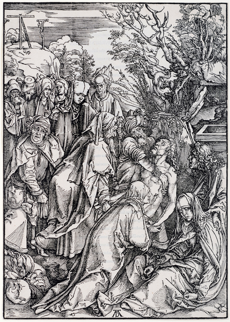 , 'The Deposition,' 1496-1497, David Tunick, Inc.