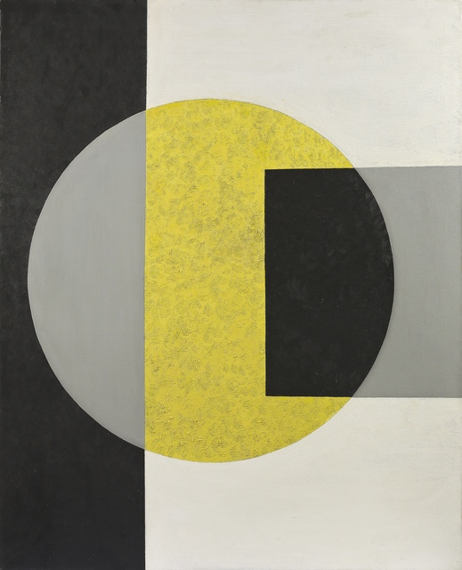 , 'Black into Yellow,' 1970, Vallarino Fine Art