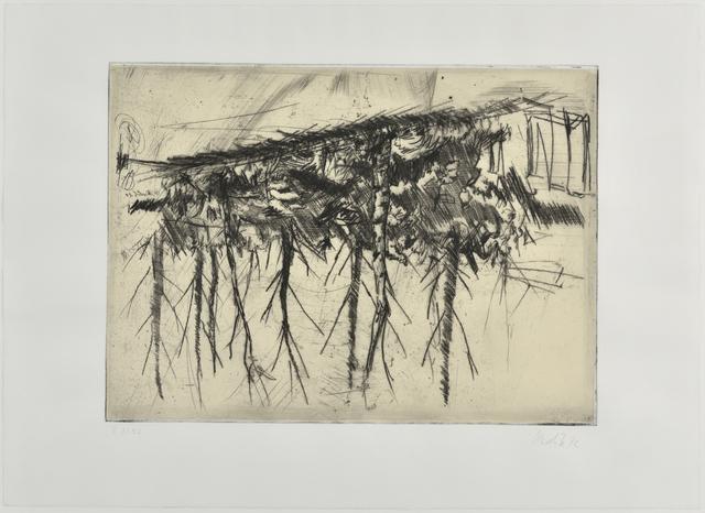 Georg Baselitz, 'Birken', 1971, Galerie Catherine Putman