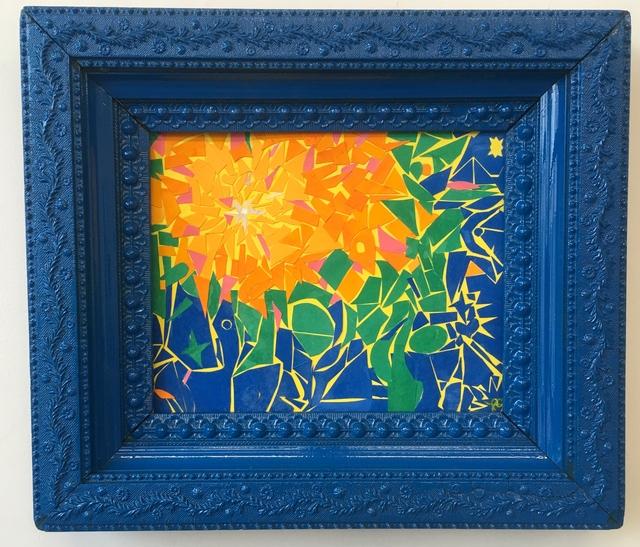 Fred Bendheim, 'Blue Garden', 2018, 440 Gallery