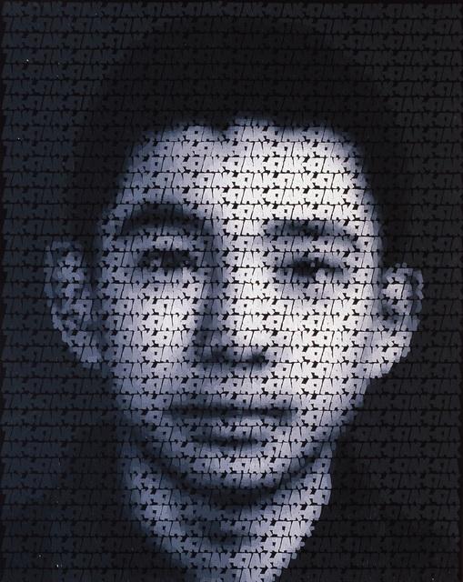 Zhang Dali, 'AK-47 (Q1)', 2009, Danysz Gallery