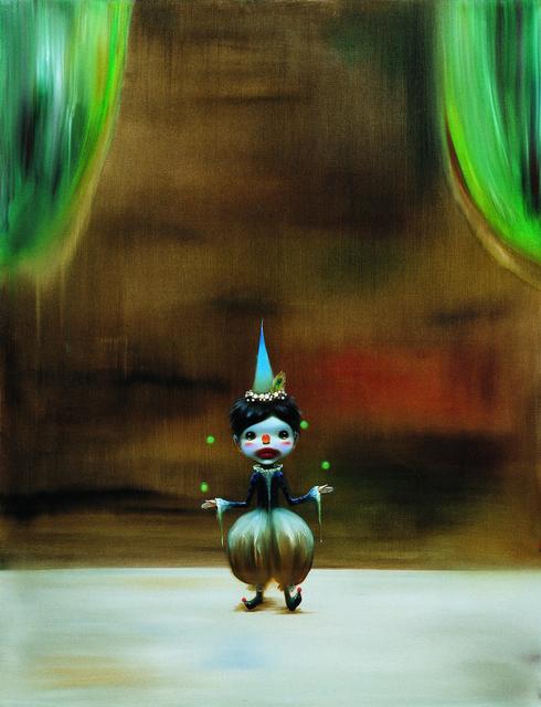 Chen Ke 陈可, 'Little clown', 2015, Print, Silkscreen Print, Michael Ku Gallery