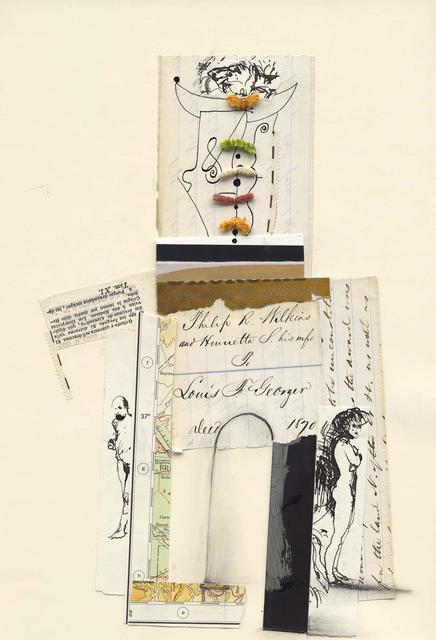 Ben Schonzeit, 'Philip R. Wilkins, Mix Media Collage Series', 2015, Holden Luntz Gallery