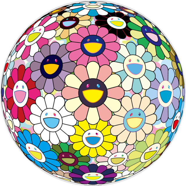 Takashi Murakami, 'Flower Ball: Prayer', 2018, MSP Modern