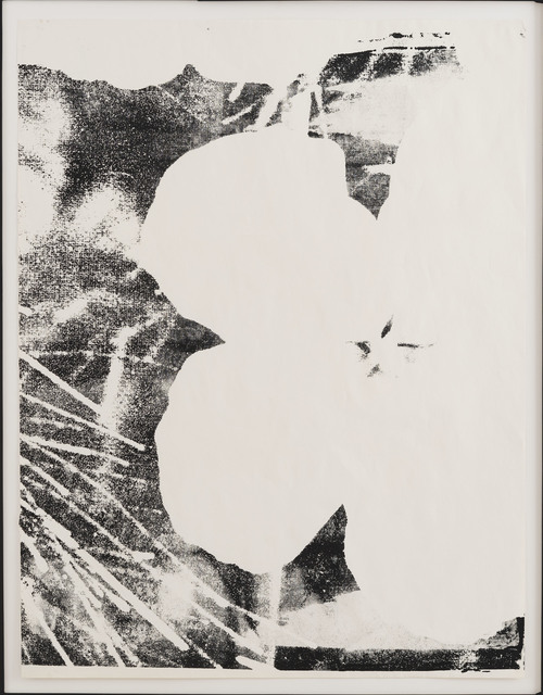, 'Flower,' ca. 1978, Repetto Gallery
