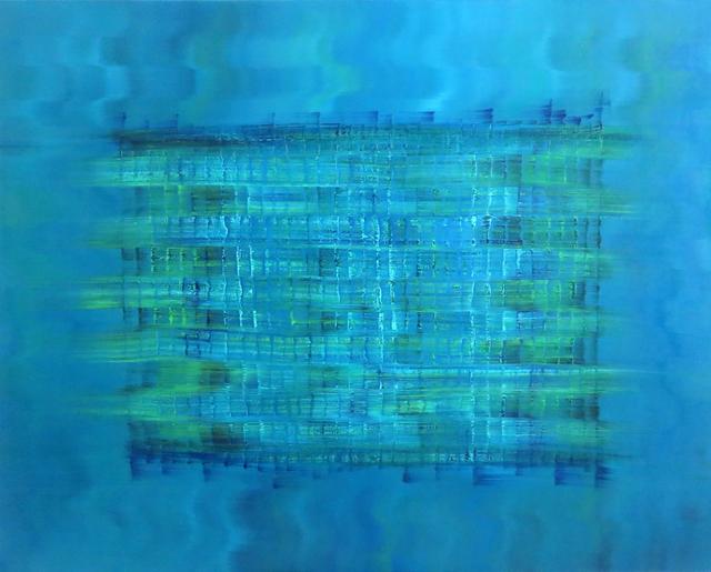 , 'Blue Haze,' 2015, Janet Rady Fine Art