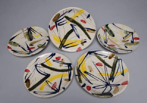 , 'Plate w/ Brush Marks,' , LACOSTE / KEANE GALLERY