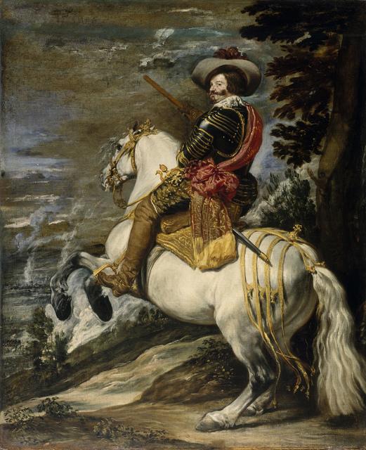 , 'Don Gaspar Guzmán, Conde Duque de Olivares,' ca. 1635, Gemäldegalerie Alte Meister
