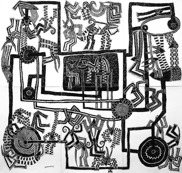 """, '""""Sistema falhado"""",' 2017, Arte de Gema"""