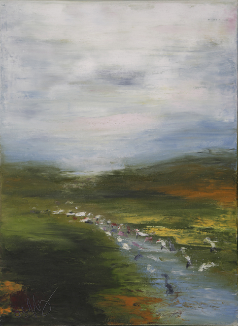 Geoffrey C. Smith, 'Yacht and Country Ditch', 2017, Geoffrey C. Smith Galleries