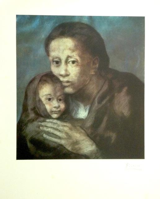 Pablo Picasso, 'Mere et enfant fichu', 1966, Galeria Joan Gaspar