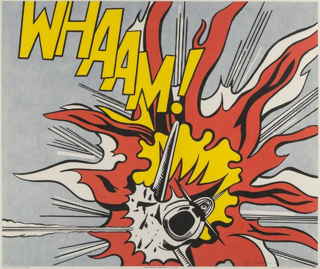 Roy Lichtenstein, 'Whaam!, diptych', 1967, Print, Offset lithographs in colors on paper, Heritage Auctions
