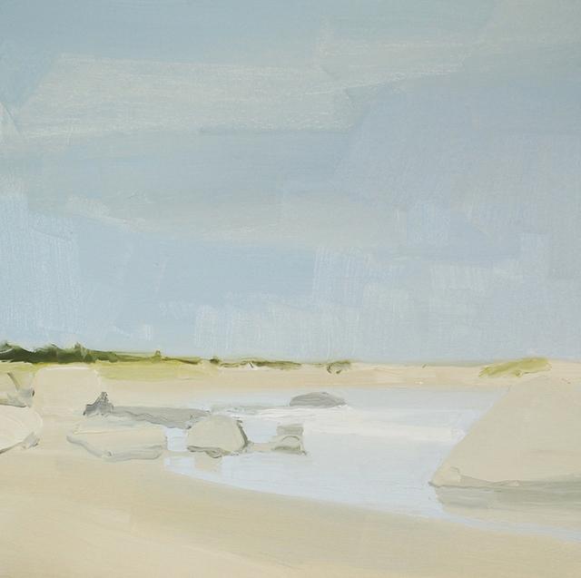 , 'Beach and Rocks,' 2014, Kathryn Markel Fine Arts