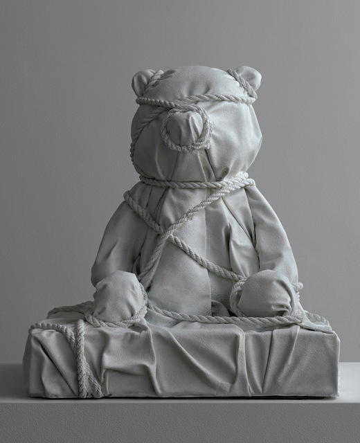 , 'Wrapped Bear Yellow,' 2018, Galerie Ron Mandos