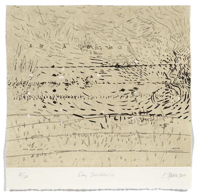 Catherine Farish, 'Day Scribbles 1', 2009, Atelier-Galerie A.Piroir