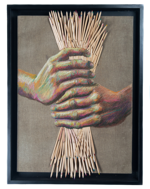 , 'Hands with Wheat,' 2017, Adelson Galleries