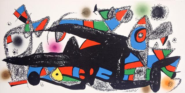 Joan Miró, 'Miró Escultor Denmark', 1974, Hans den Hollander Prints