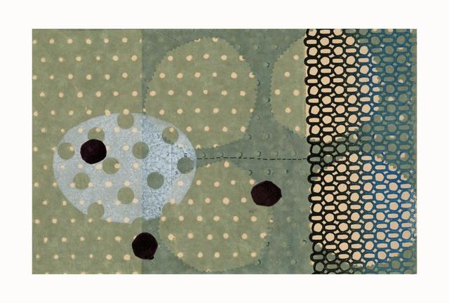 LJ Douglas, 'Empty Headed', 2018, Print, Monotype, chine collé, Manneken Press