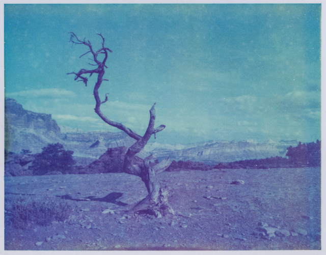 Kirsten Thys van den Audenaerde, 'Deadwood - Contemporary, Polaroid, Landscape, Color, Landmark, Blue', 2017, Instantdreams