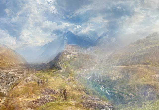 Hiroyuki Masuyama, 'J.M.W. Turner  A Village In The Alps (Sion Near The Simplon) 1846', 2014, GALERIE URS REICHLIN