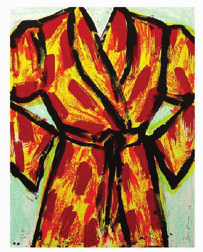 Jim Dine, 'Black Ink Robe', 2005, Taglialatella Galleries