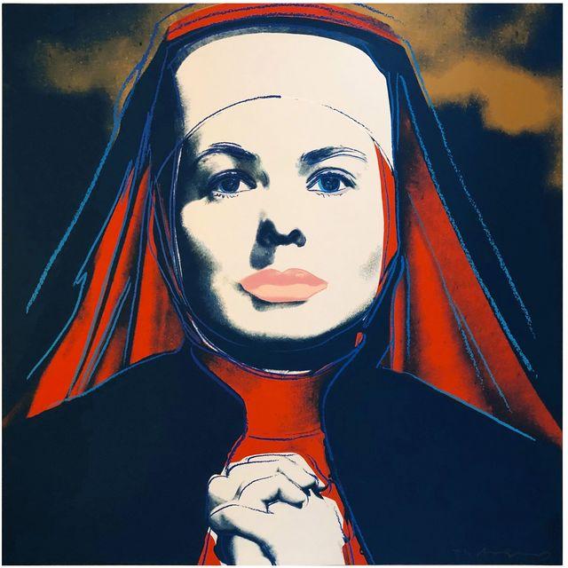 Andy Warhol, 'The Nun, from Ingrid Bergman (F&S IIB 314)', 1983, Joseph K. Levene Fine Art, Ltd.