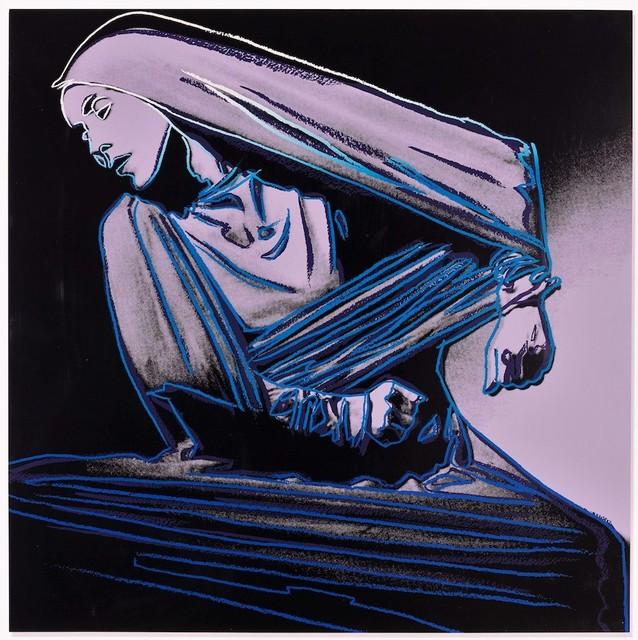 Andy Warhol, 'Lamentation', 1986, Print, Original color screenprint on Lenox Museum Board, michael lisi / contemporary art