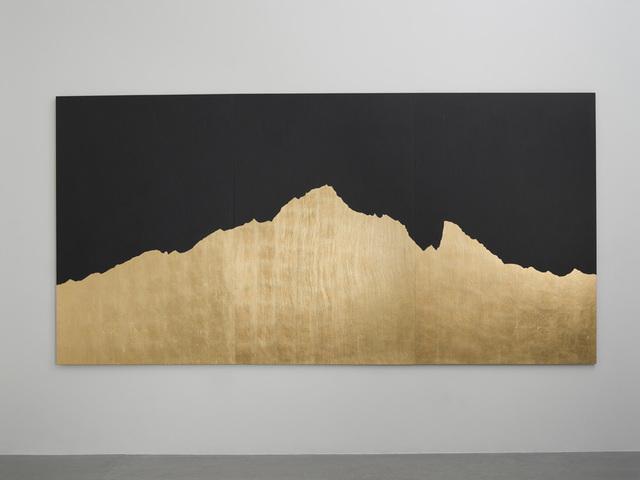 , 'Mont Analogue - Montebianco - Oro,' 2016, Gazelli Art House