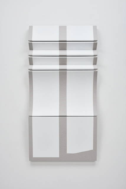 , 'Untitled Two Torn White Bars,' 2019, Over the Influence