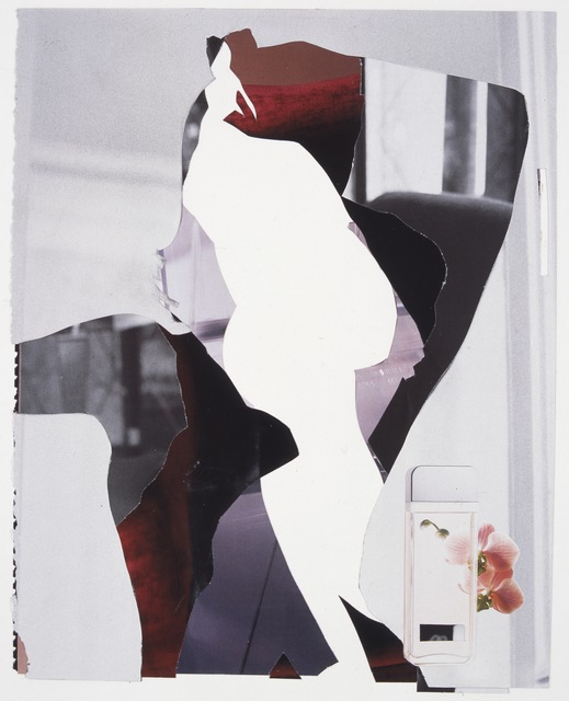 , 'Three pages from a magazine, body and text removed,' 2004, Paul Stolper Gallery