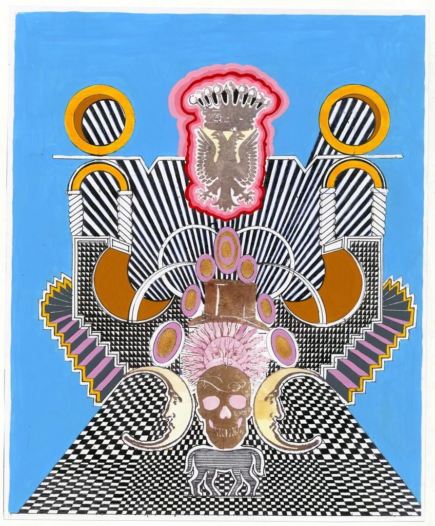 , 'Lunaticomania con Habsurguitis,' 2016, MAIA Contemporary