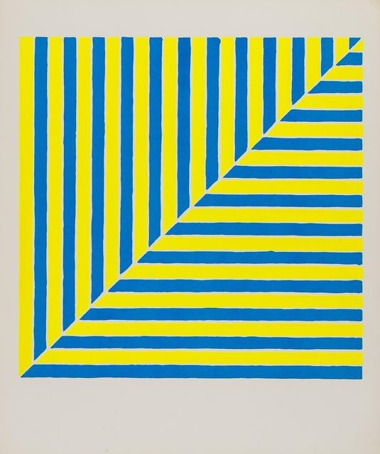 Frank Stella, 'Untitled (Rabat) (Axsom 00 / 1A) (from Ten Works by Ten Painters)', 1964, Print, Screenprint in colours, Forum Auctions