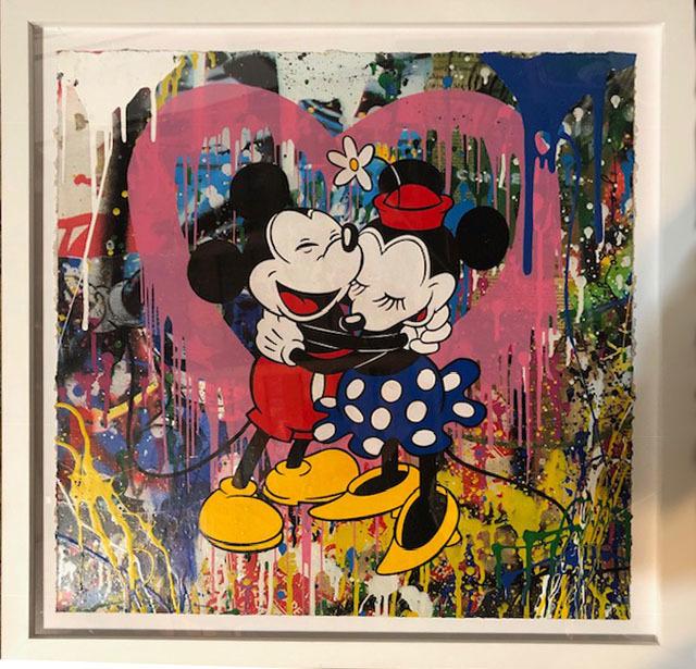 Mr. Brainwash, 'Mickey & Minnie', 2018, Robin Rile Fine Art