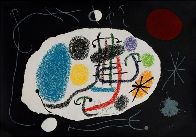 Joan Miró, 'Le lézard aux plumes d'or ', 1971, Print, Lithograph on paper, Le Coin des Arts