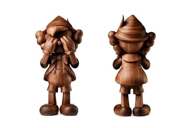 KAWS, 'Pinocchio by Kaws in Wood (by Karimoku)', 2018, Dope! Gallery