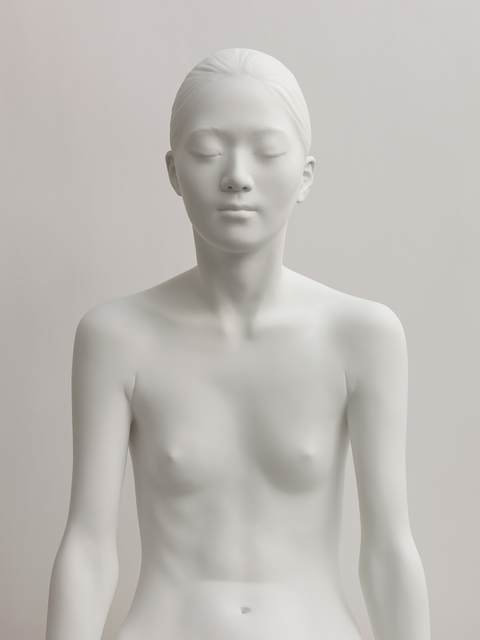 , 'Yoko X. Sitting (face on),' 2015, Paul Stolper Gallery