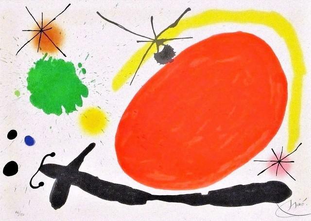 Joan Miró, 'La Japonaise(The Japanese Woman)', 1971, michael lisi / contemporary art