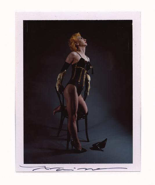 Yasumasa Morimura, 'Singer 1', 1994, Photography, Instant Color Film, unique piece - Framed,price ex vat, Alex Daniels - Reflex Amsterdam