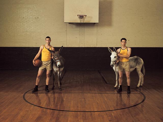 , 'Donkey Basketball,' 2007, ClampArt