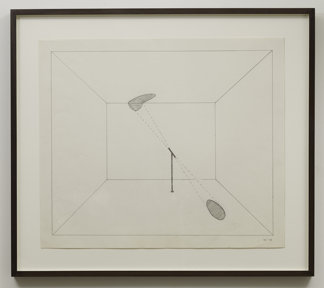 , 'Untitled (Locator),' 1973, Parafin