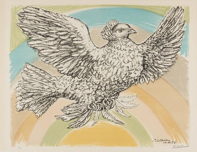 Pablo Picasso, 'Colombe Volant (Bloch 712; Mourlot 214)', 1952, Forum Auctions