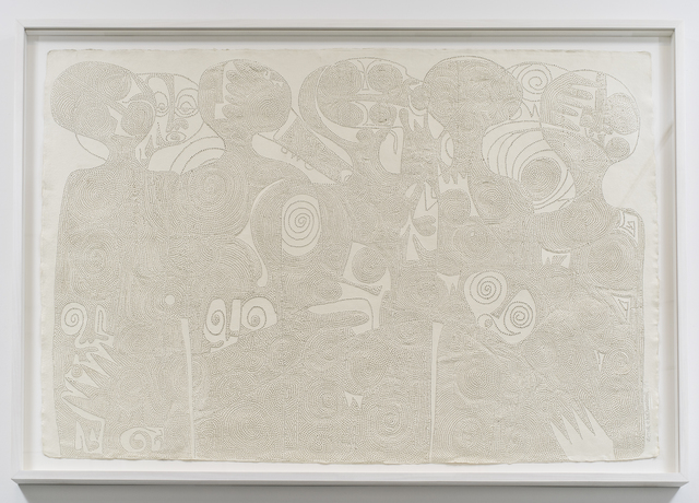 , 'We are members of the Benin war council,' 2017, Tyburn Gallery