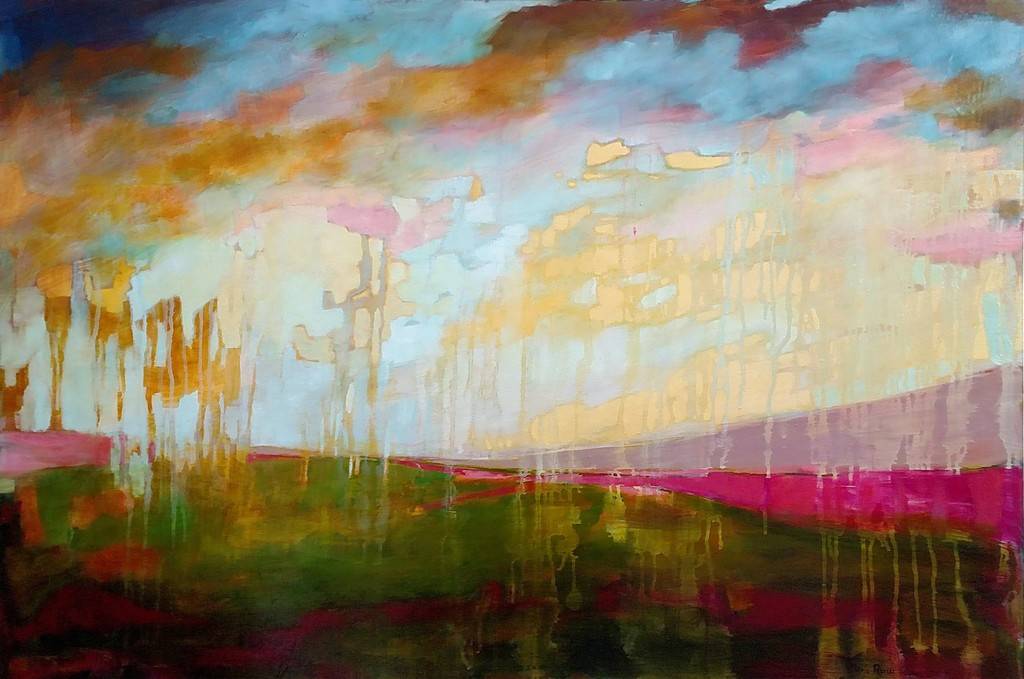 Contemporary landscapes in oil by Nicole Renee Ryan.